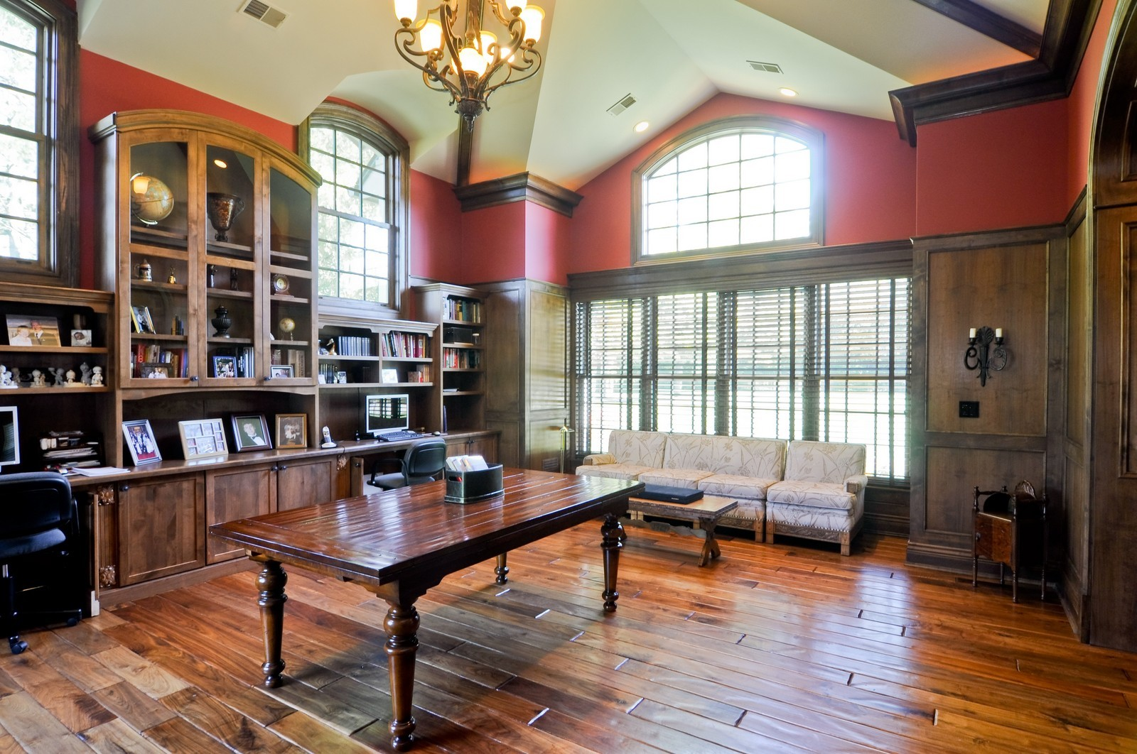 Real Estate Photography - 70 Dundee, Barrington Hills, IL, 60010 - Library
