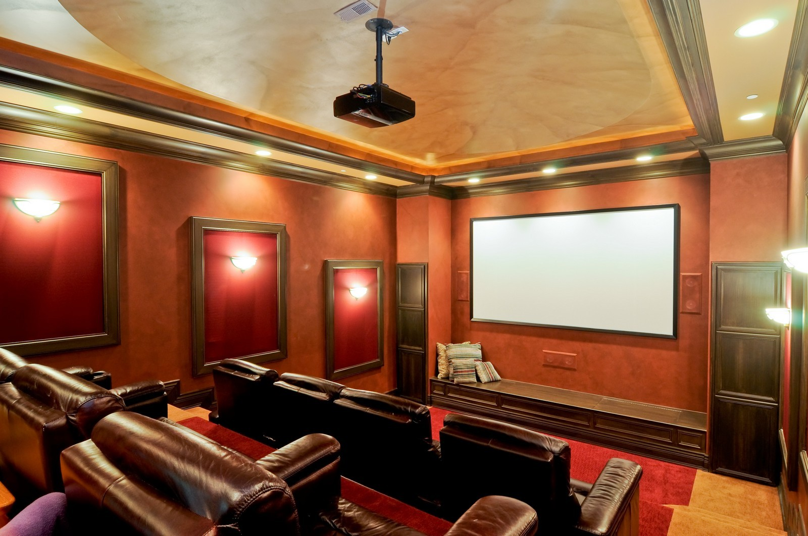 Real Estate Photography - 70 Dundee, Barrington Hills, IL, 60010 - Theater
