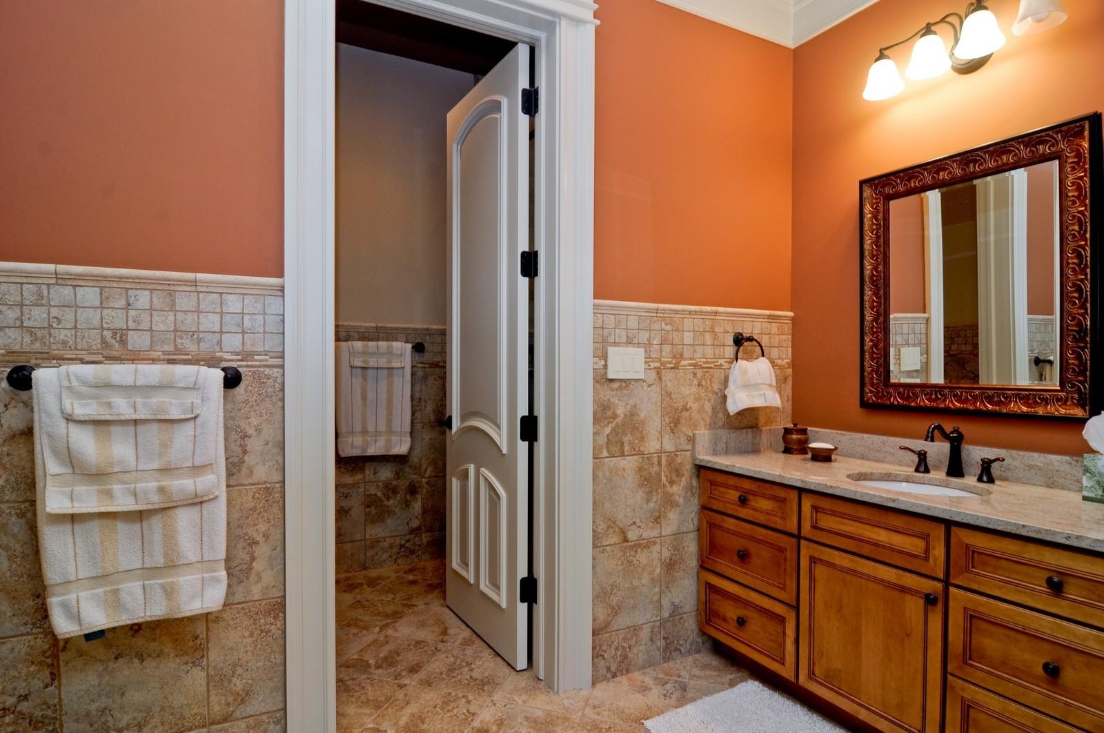 Real Estate Photography - 70 Dundee, Barrington Hills, IL, 60010 - Bedroom 3 Bath