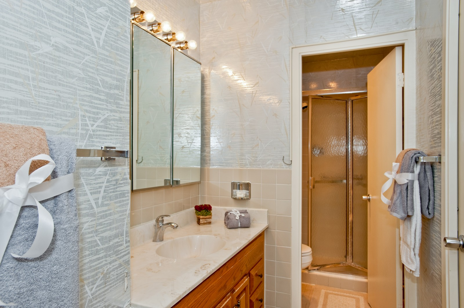 Real Estate Photography - 1616 Sheridan, Wilmette, IL, 60091 - Master Bathroom