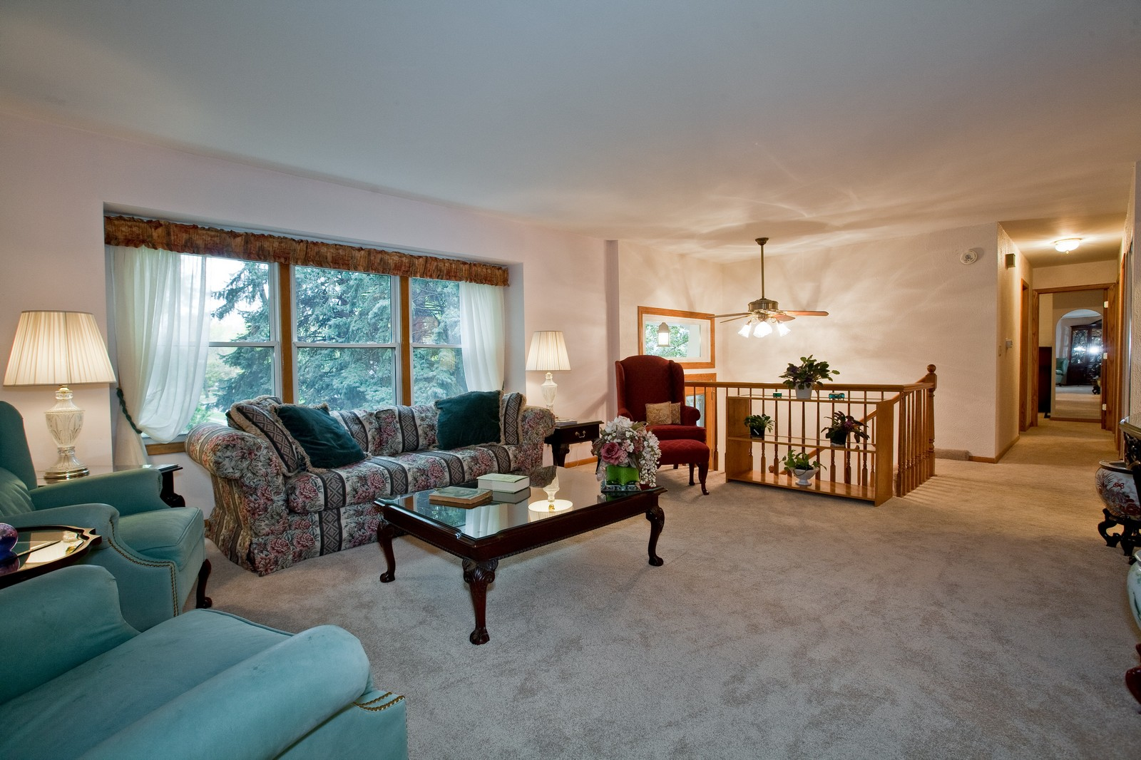 Real Estate Photography - 4402 Black Partridge, Lisle, IL, 60532 - Living Room