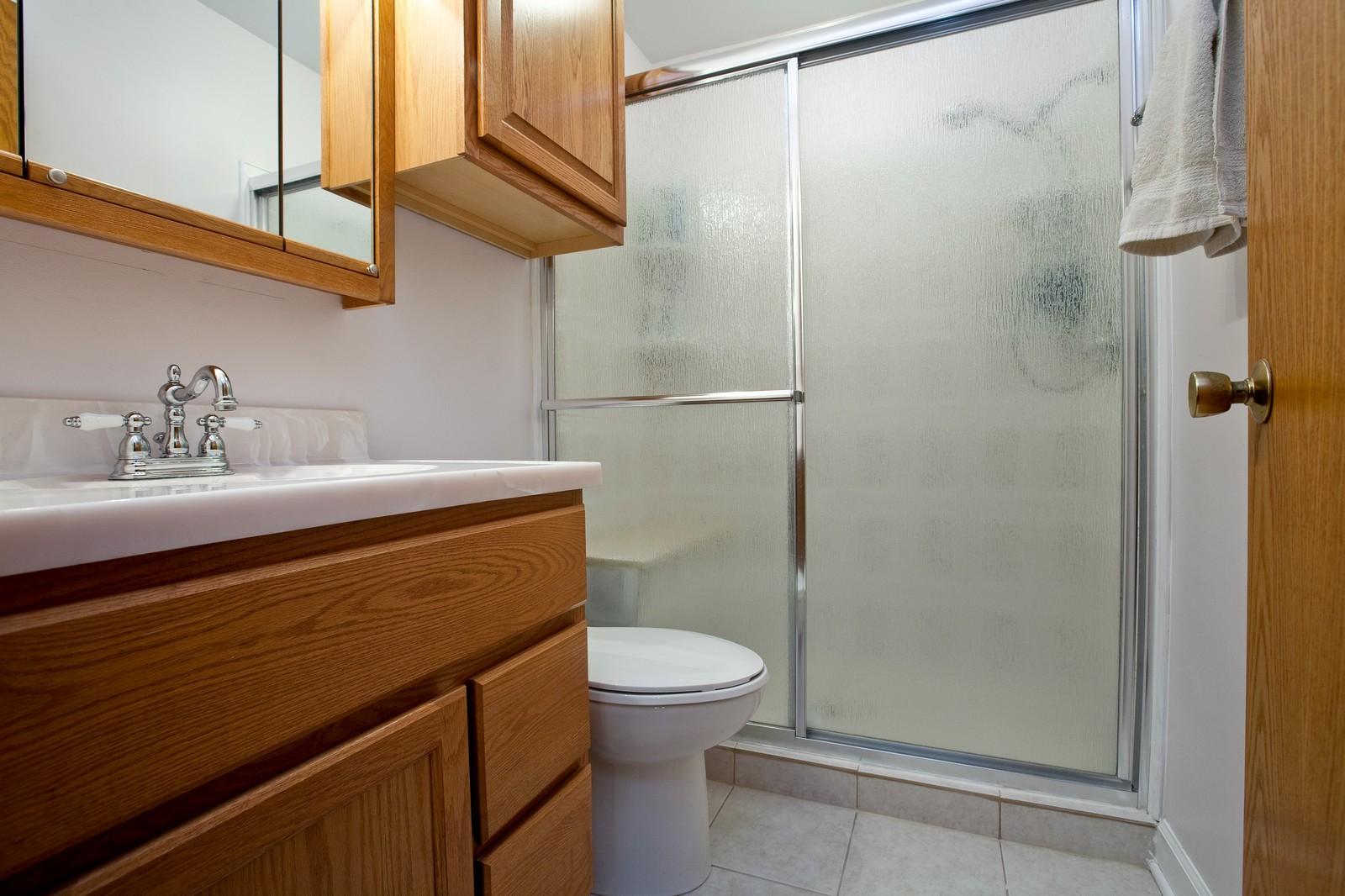 Real Estate Photography - 4402 Black Partridge, Lisle, IL, 60532 - Master Bathroom