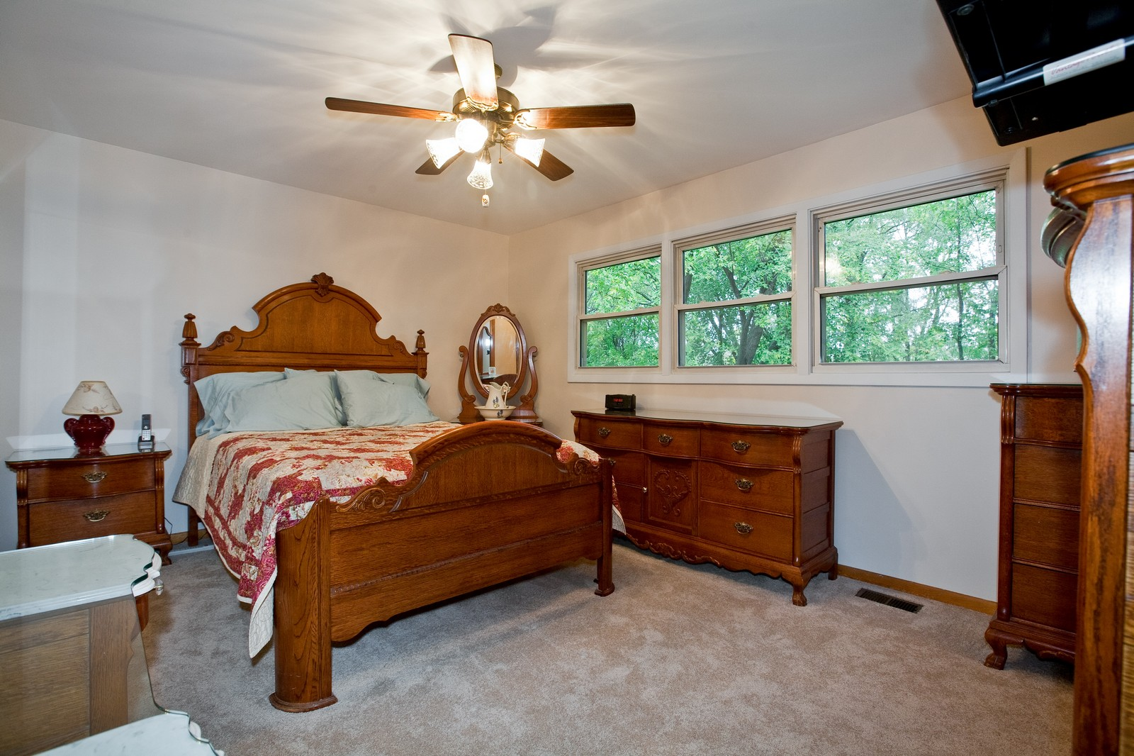 Real Estate Photography - 4402 Black Partridge, Lisle, IL, 60532 - Master Bedroom