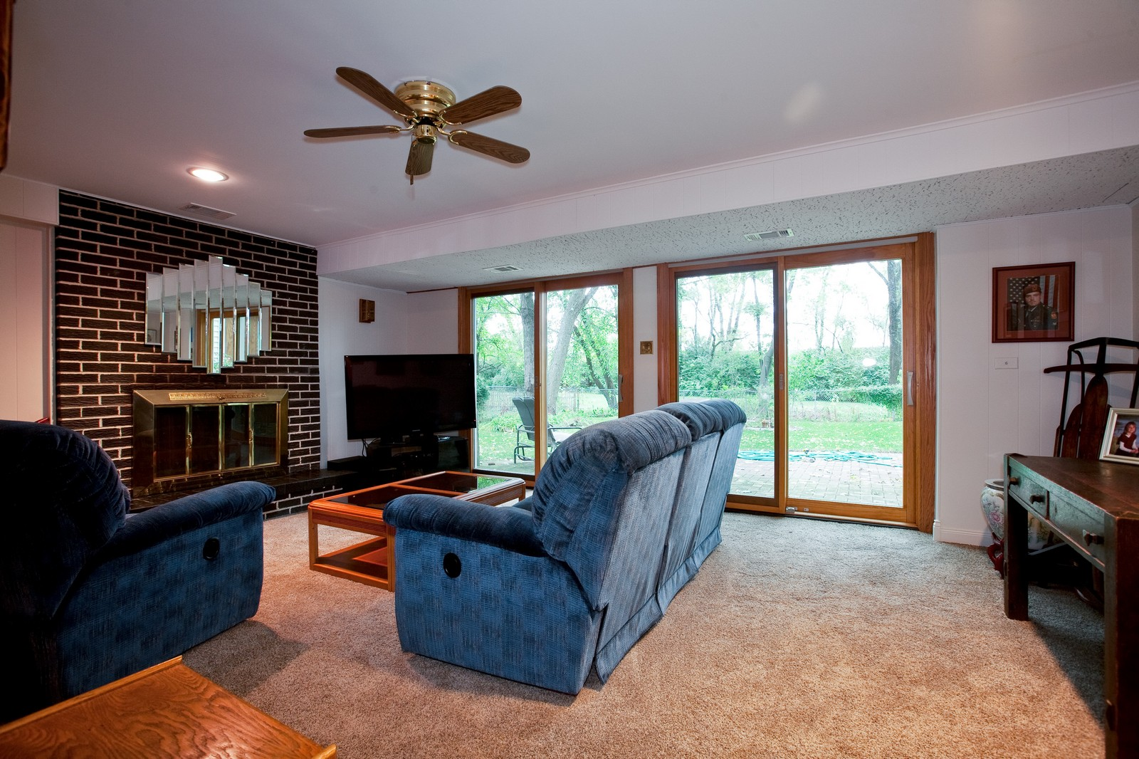 Real Estate Photography - 4402 Black Partridge, Lisle, IL, 60532 - Family Room