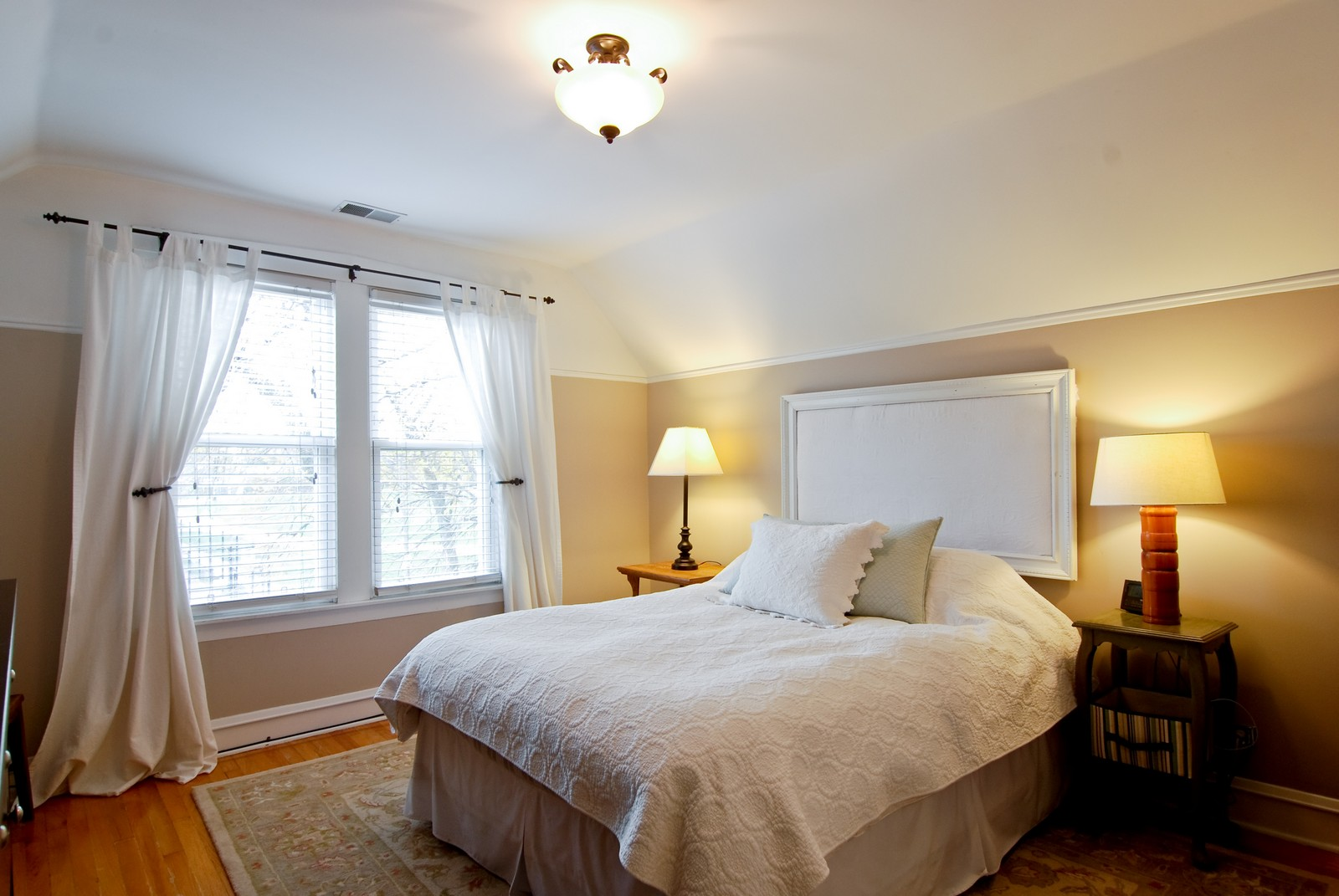 Real Estate Photography - 3436 N Kilbourn, Chicago, IL, 60641 - Master Bedroom
