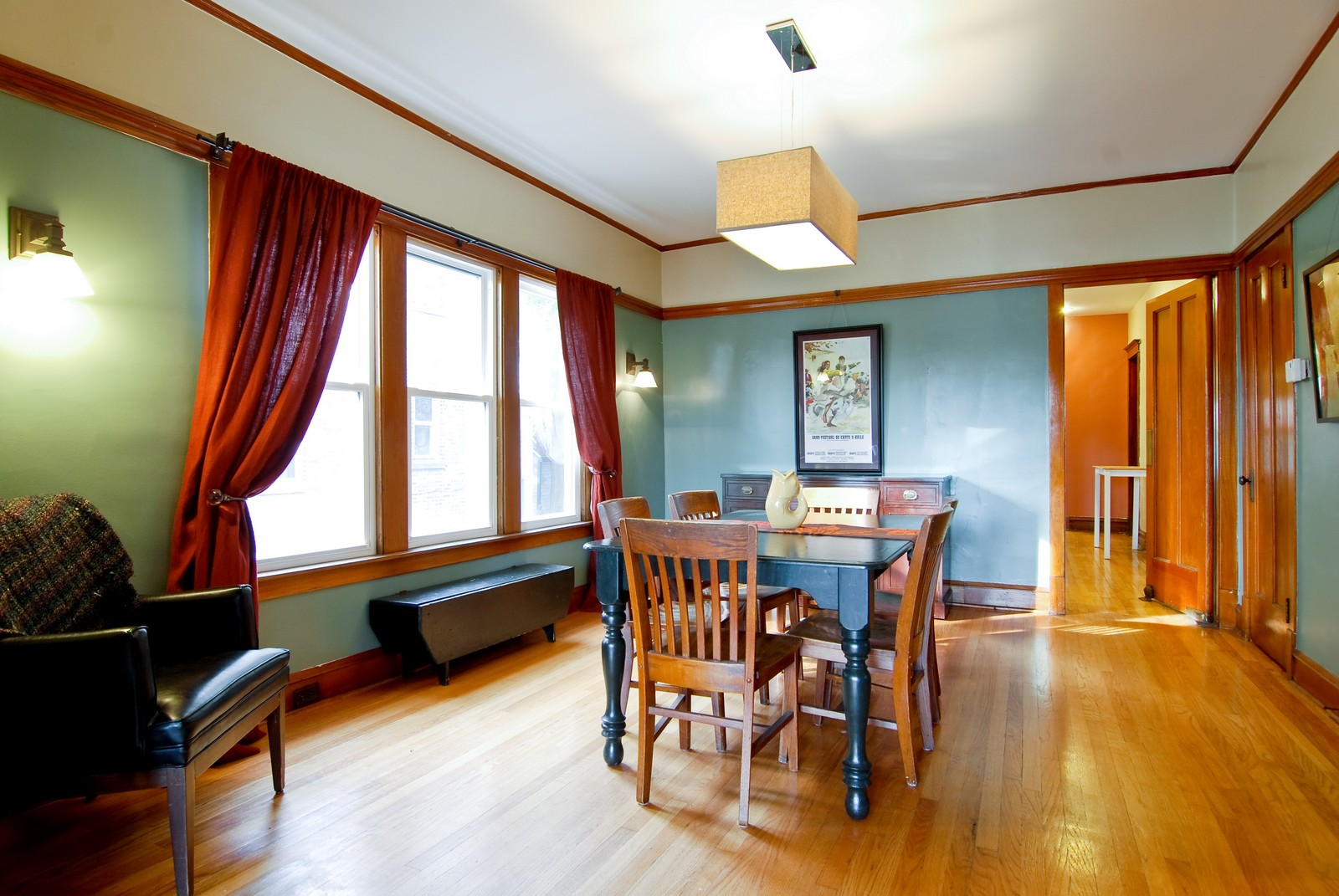 Real Estate Photography - 3436 N Kilbourn, Chicago, IL, 60641 - Dining Room