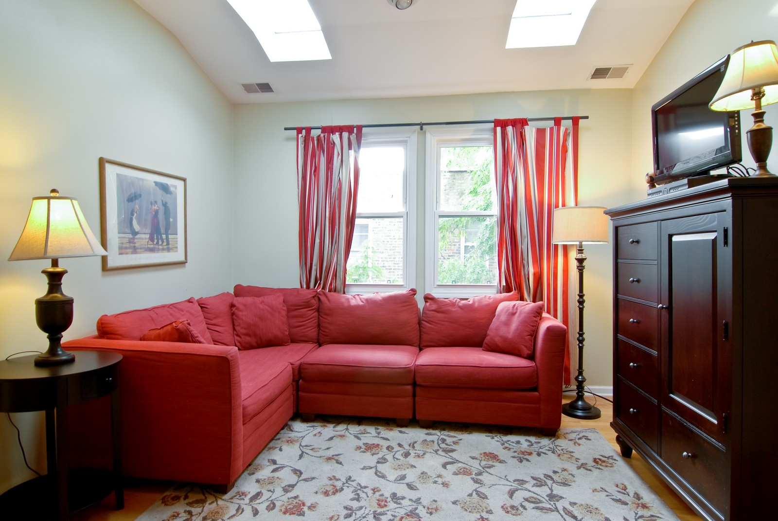 Real Estate Photography - 3436 N Kilbourn, Chicago, IL, 60641 - Family Room