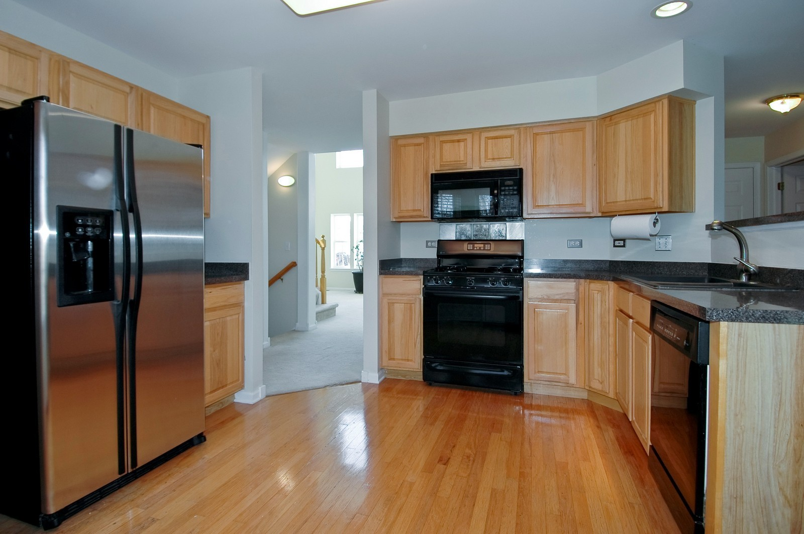Real Estate Photography - 415 Geneva Ln, Cary, IL, 60013 - Kitchen