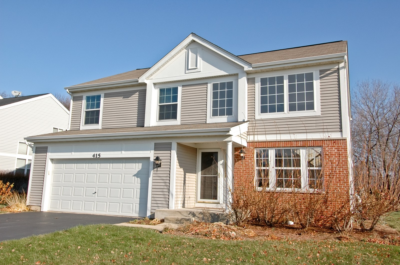 Real Estate Photography - 415 Geneva Ln, Cary, IL, 60013 - Front View