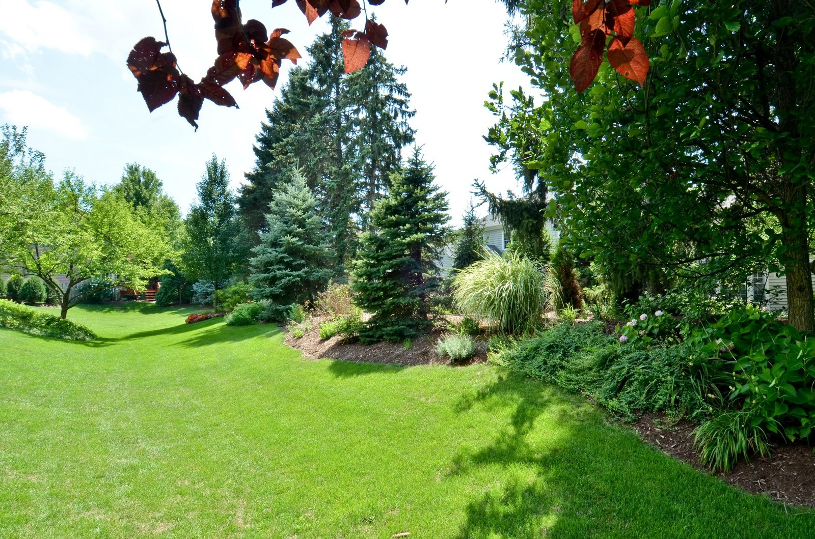 Real Estate Photography - 1492 Lloyd, Wheaton, IL, 60189 - Back yard, view 4
