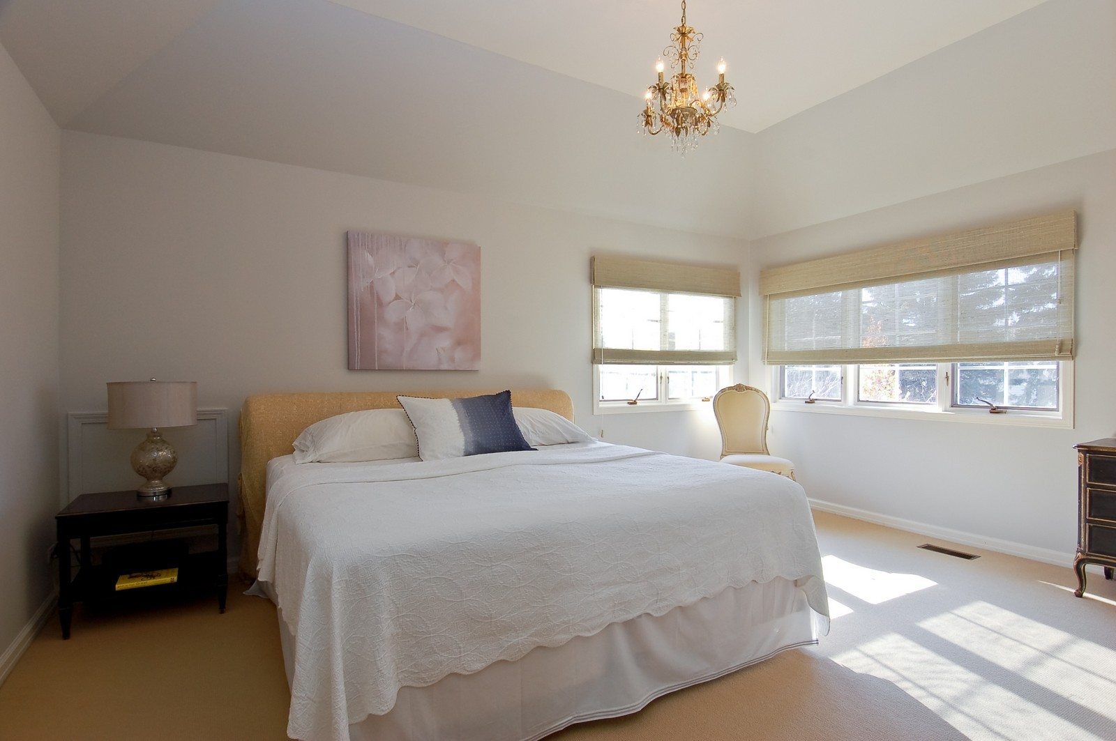 Real Estate Photography - 1492 Lloyd, Wheaton, IL, 60189 - Master Bedroom