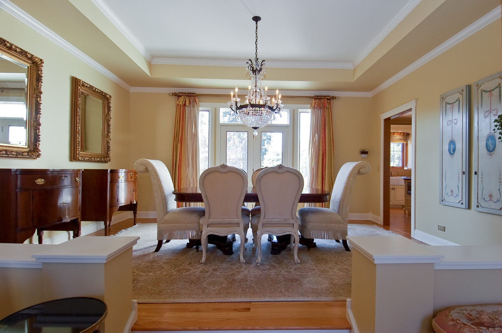 Real Estate Photography - 1492 Lloyd, Wheaton, IL, 60189 - Dining Room