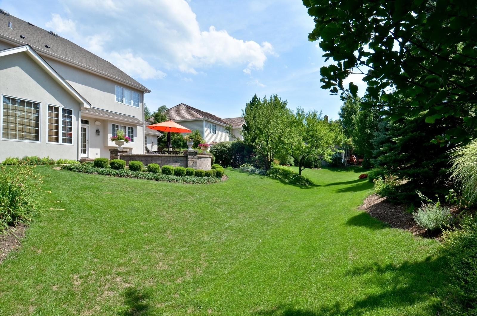 Real Estate Photography - 1492 Lloyd, Wheaton, IL, 60189 - Back Yard