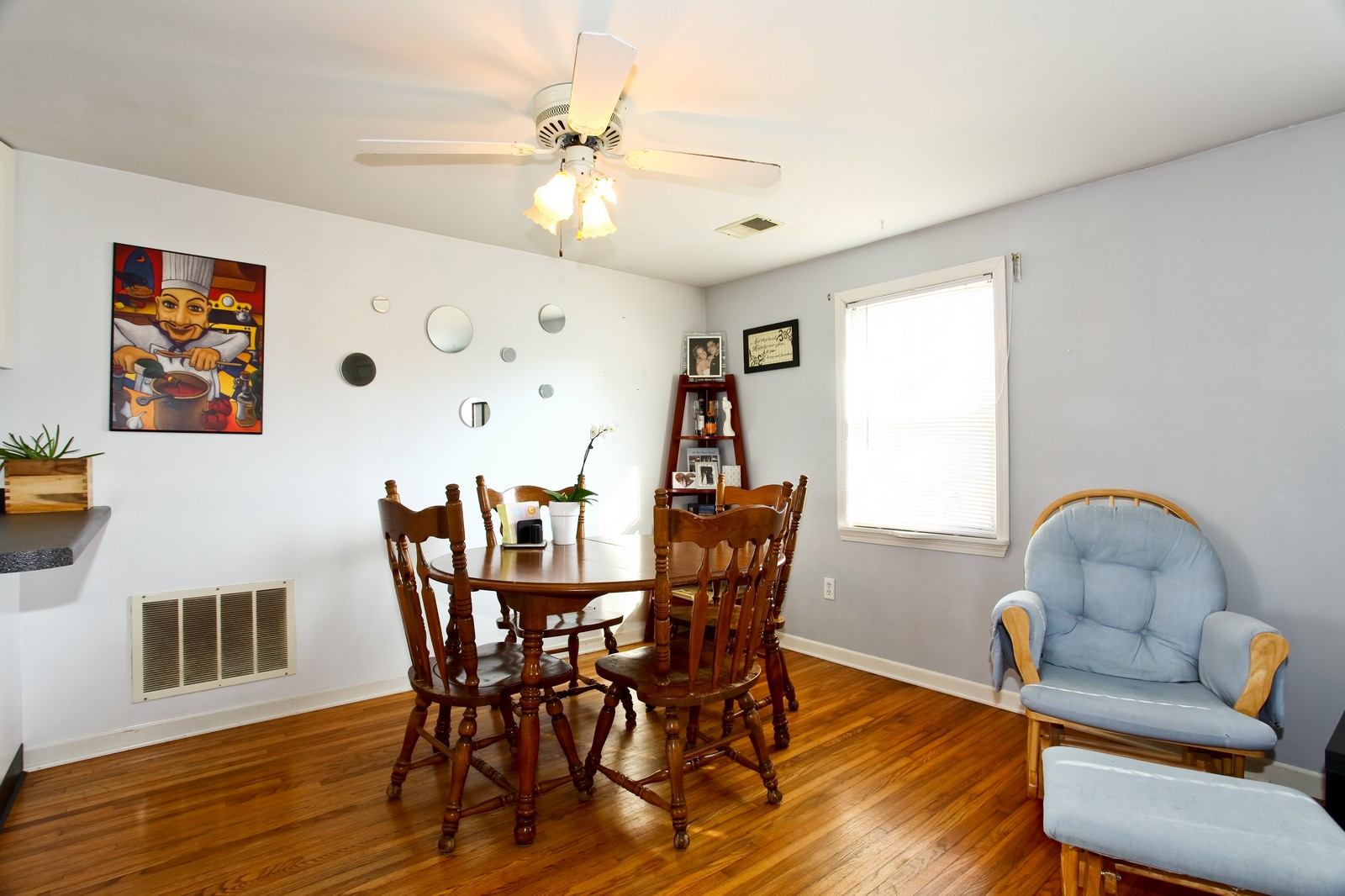 Real Estate Photography - 929 Seaman, Dekalb, IL, 60115 - Dining Room
