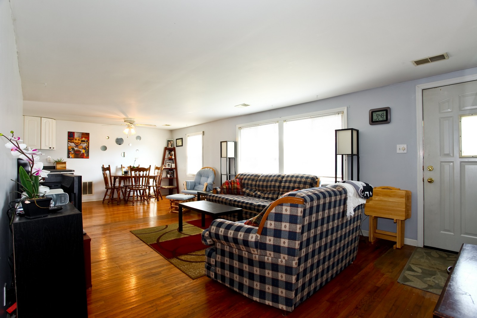 Real Estate Photography - 929 Seaman, Dekalb, IL, 60115 - Living Room / Dining Room