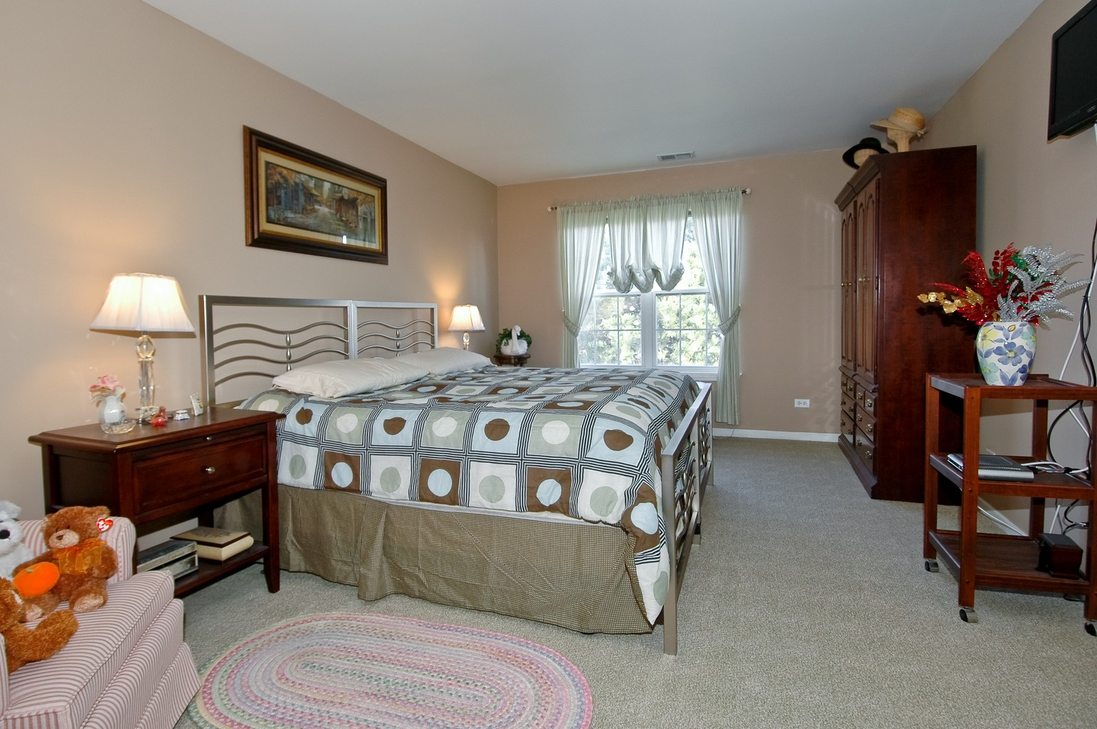 Real Estate Photography - 346 Crystal Ridge, Crystal Lake, IL, 60014 - Master Bedroom