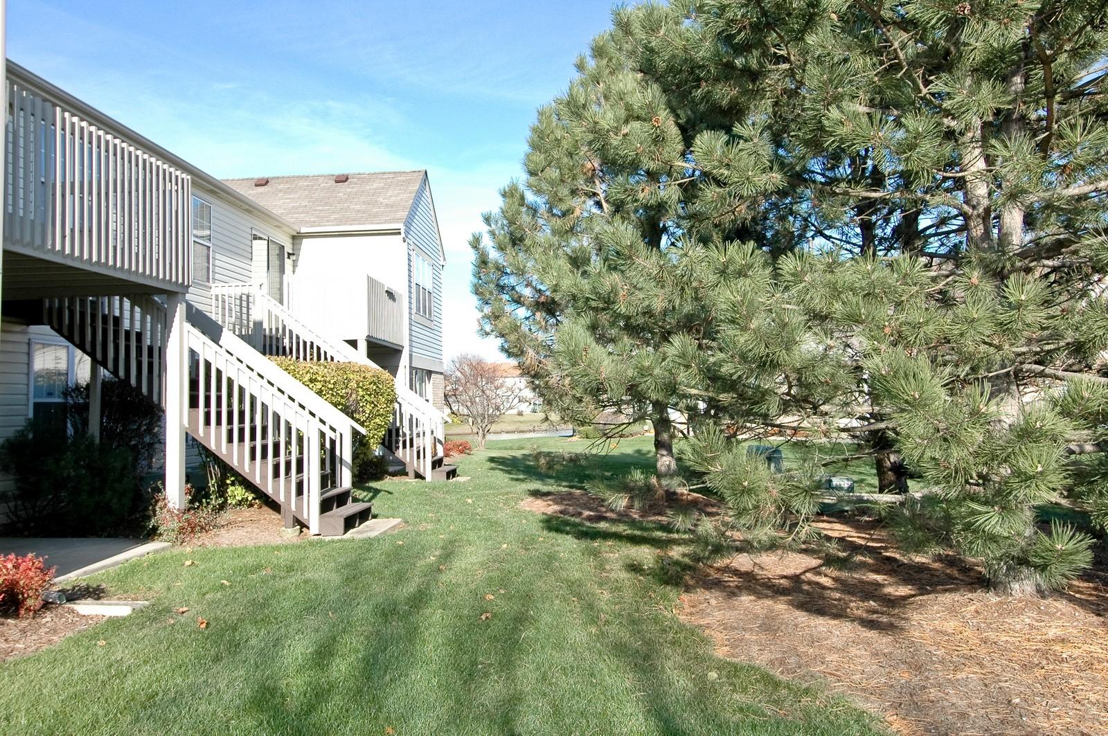 Real Estate Photography - 346 Crystal Ridge, Crystal Lake, IL, 60014 - Rear View
