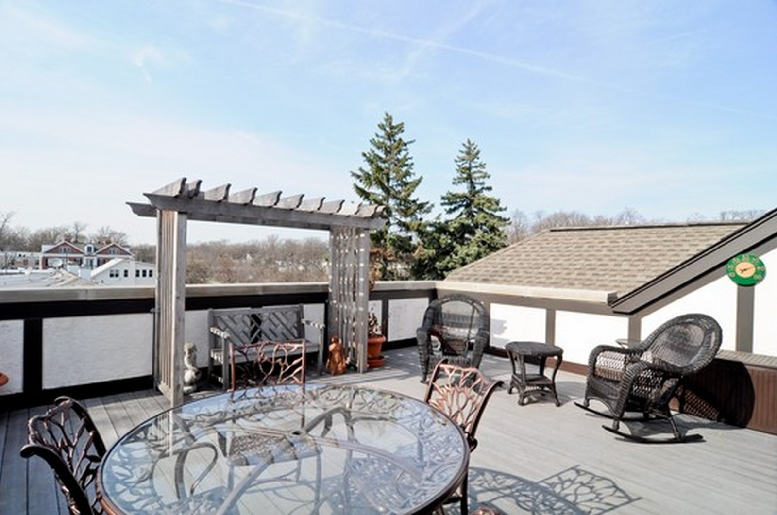 Real Estate Photography - 720 Green Bay, Unit 1D, Winnetka, IL, 60093 - Patio