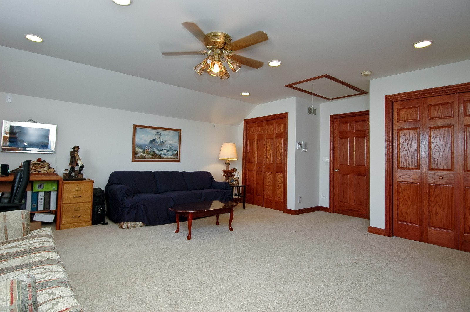 Real Estate Photography - 5522 Dakota Ridge, Johnsburg, IL, 60050 - Bonus Room