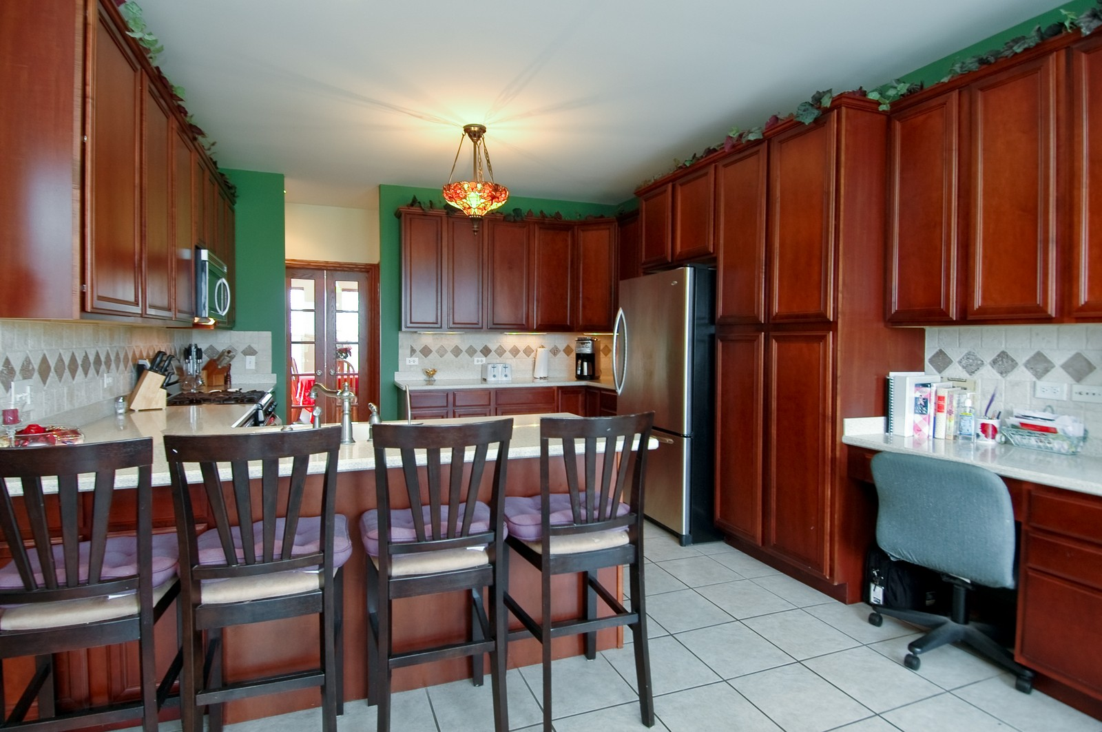 Real Estate Photography - 5522 Dakota Ridge, Johnsburg, IL, 60050 - Kitchen