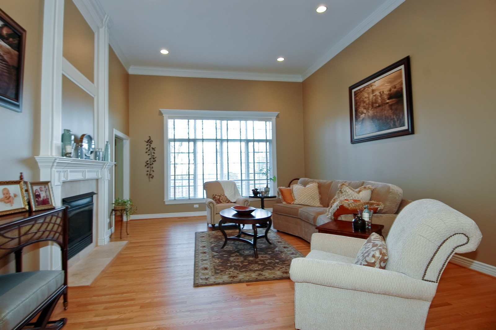 Real Estate Photography - 2100 Nish, Crystal Lake, IL, 60012 - Living Room