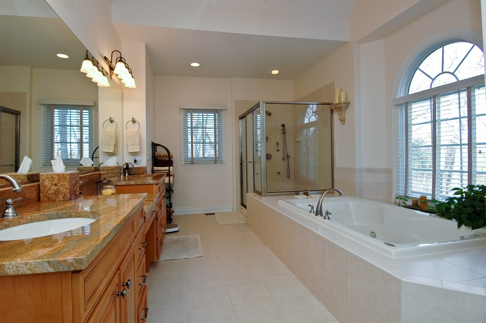 Real Estate Photography - 2100 Nish, Crystal Lake, IL, 60012 - Master Bathroom