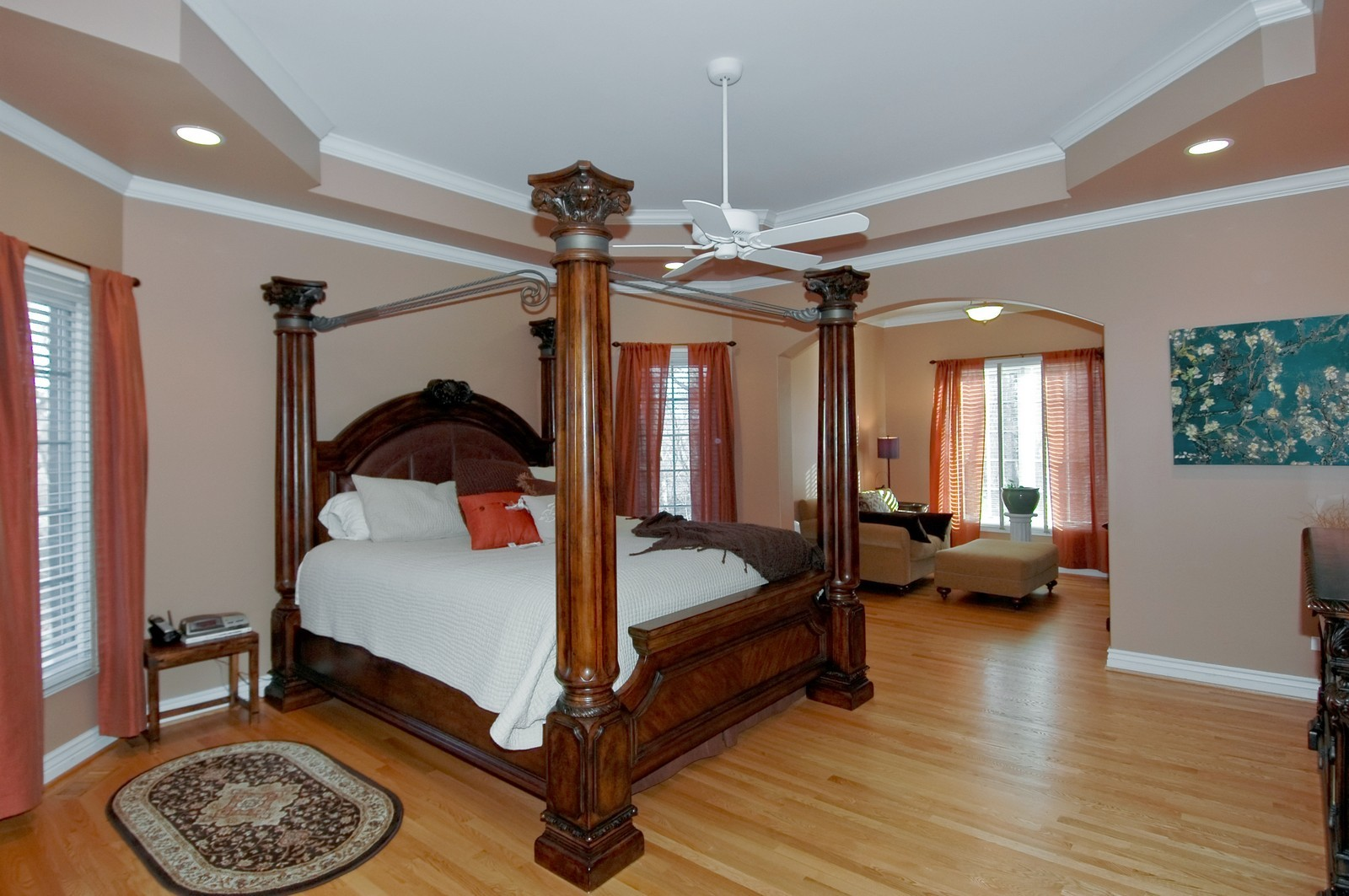 Real Estate Photography - 2100 Nish, Crystal Lake, IL, 60012 - Master Bedroom