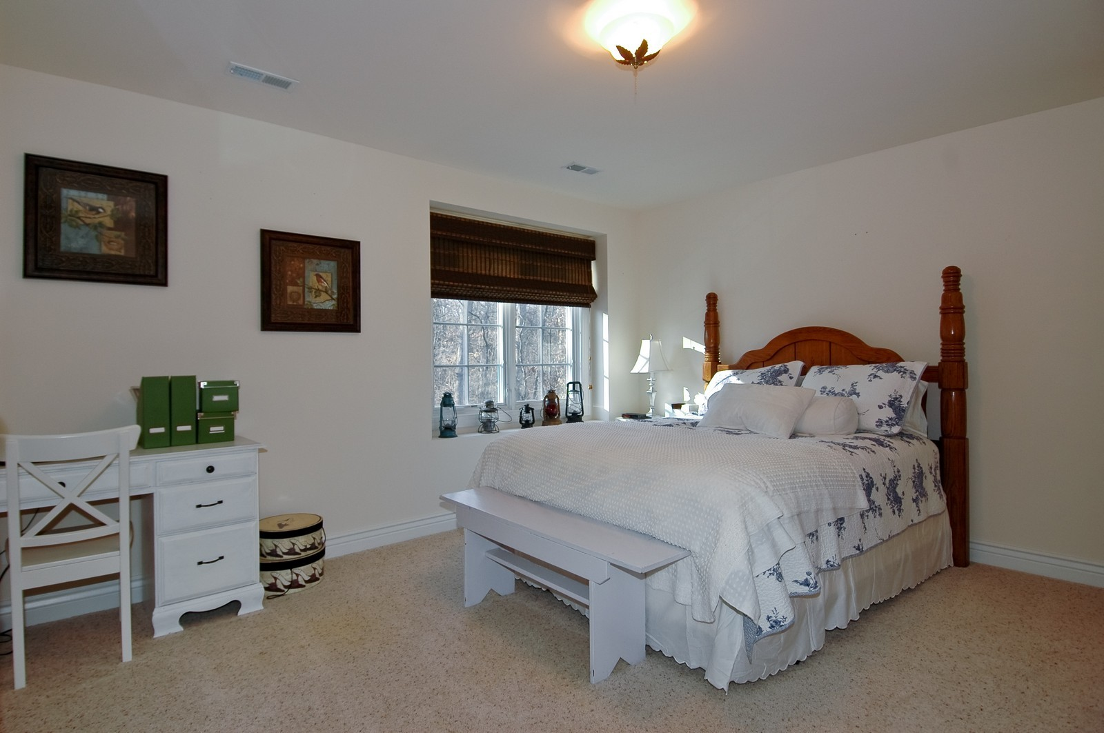 Real Estate Photography - 2100 Nish, Crystal Lake, IL, 60012 - Guest Bedroom