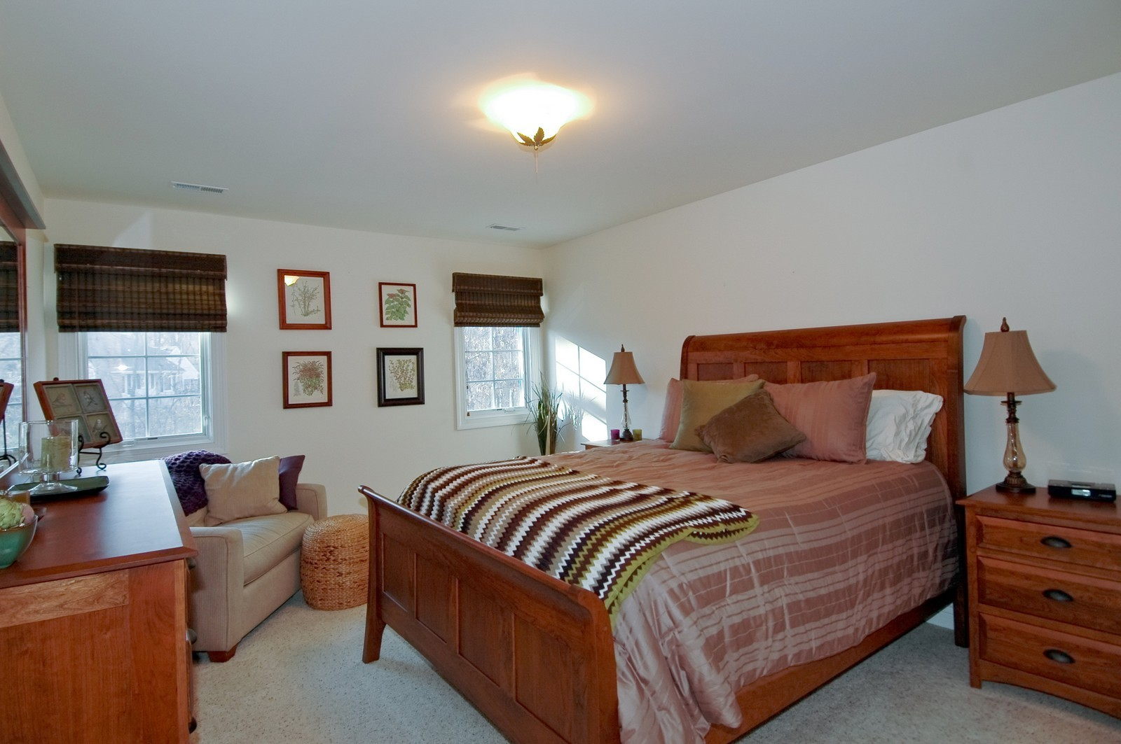 Real Estate Photography - 2100 Nish, Crystal Lake, IL, 60012 - 2nd Bedroom