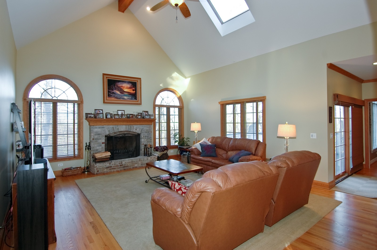 Real Estate Photography - 2100 Nish, Crystal Lake, IL, 60012 - Family Room