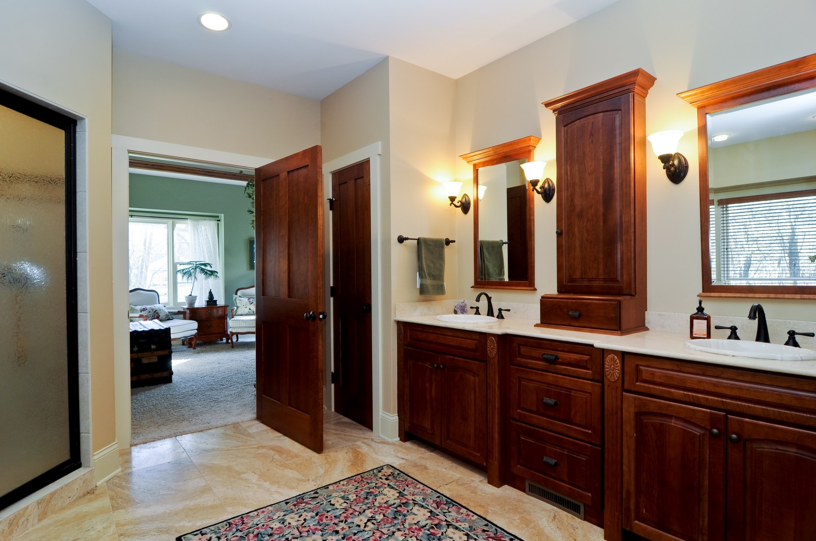 Real Estate Photography - 7420 S Rawson Bridge, Cary, IL, 60013 - Master Bathroom