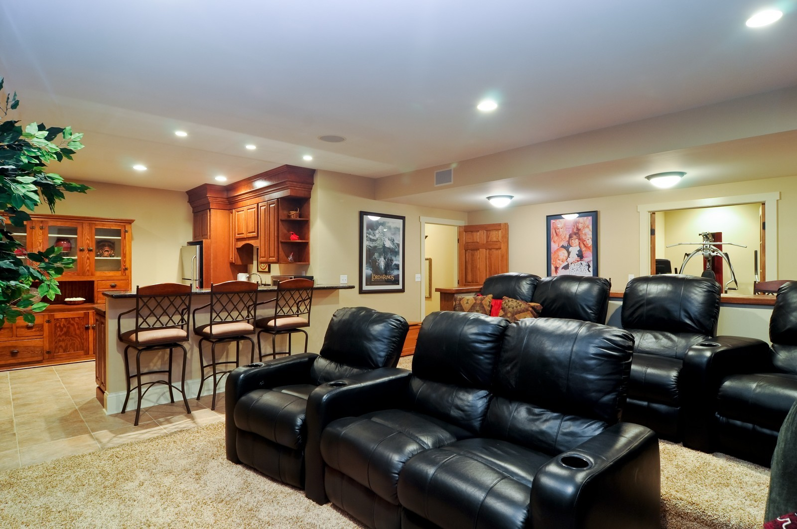 Real Estate Photography - 7420 S Rawson Bridge, Cary, IL, 60013 - Lower Level