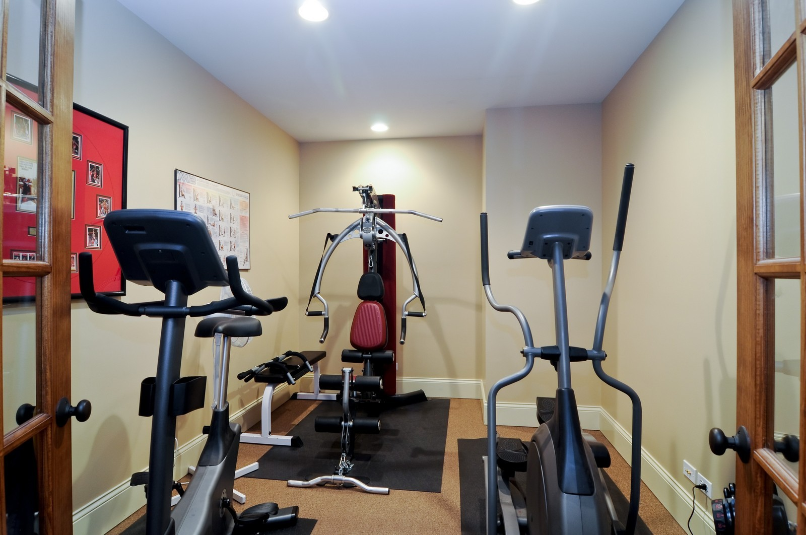 Real Estate Photography - 7420 S Rawson Bridge, Cary, IL, 60013 - Exercise Room