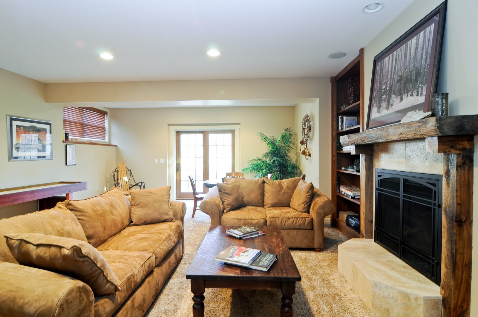 Real Estate Photography - 7420 S Rawson Bridge, Cary, IL, 60013 - Family Room