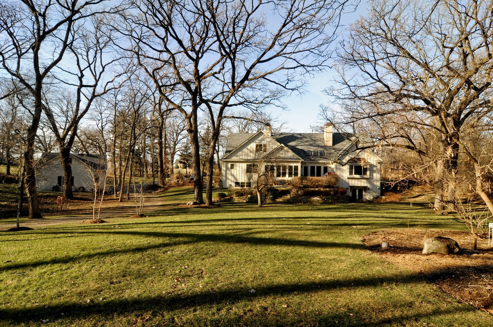 Real Estate Photography - 7420 S Rawson Bridge, Cary, IL, 60013 - Rear View