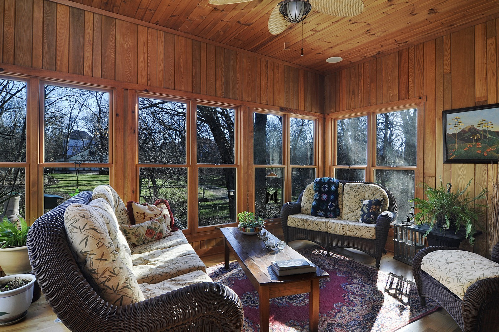 Real Estate Photography - 7420 S Rawson Bridge, Cary, IL, 60013 - Sun Room