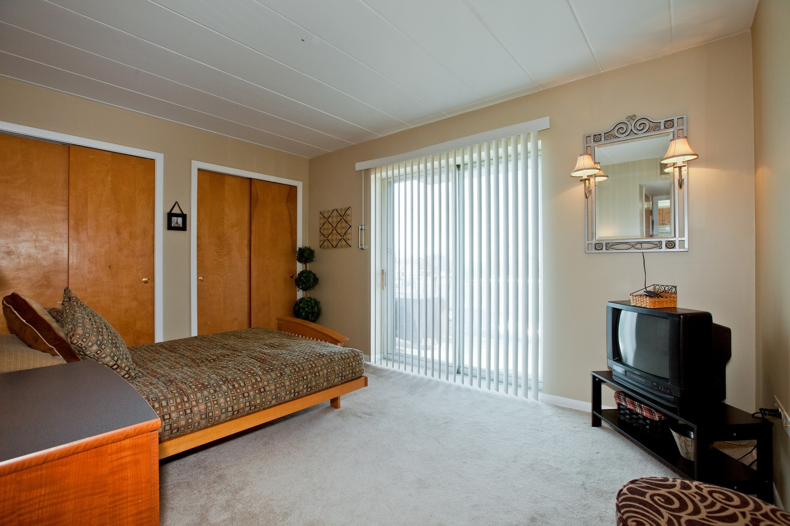 Real Estate Photography - 2900 Maple, Unit 23C, Downers Grove, IL, 60515 - 2nd Bedroom