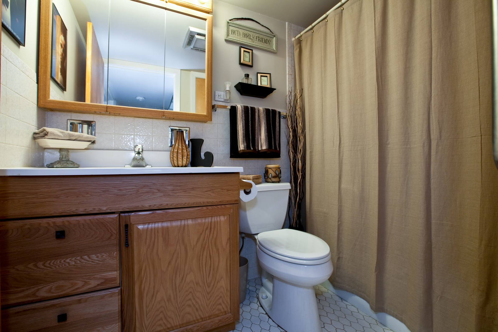 Real Estate Photography - 2900 Maple, Unit 23C, Downers Grove, IL, 60515 - Bathroom