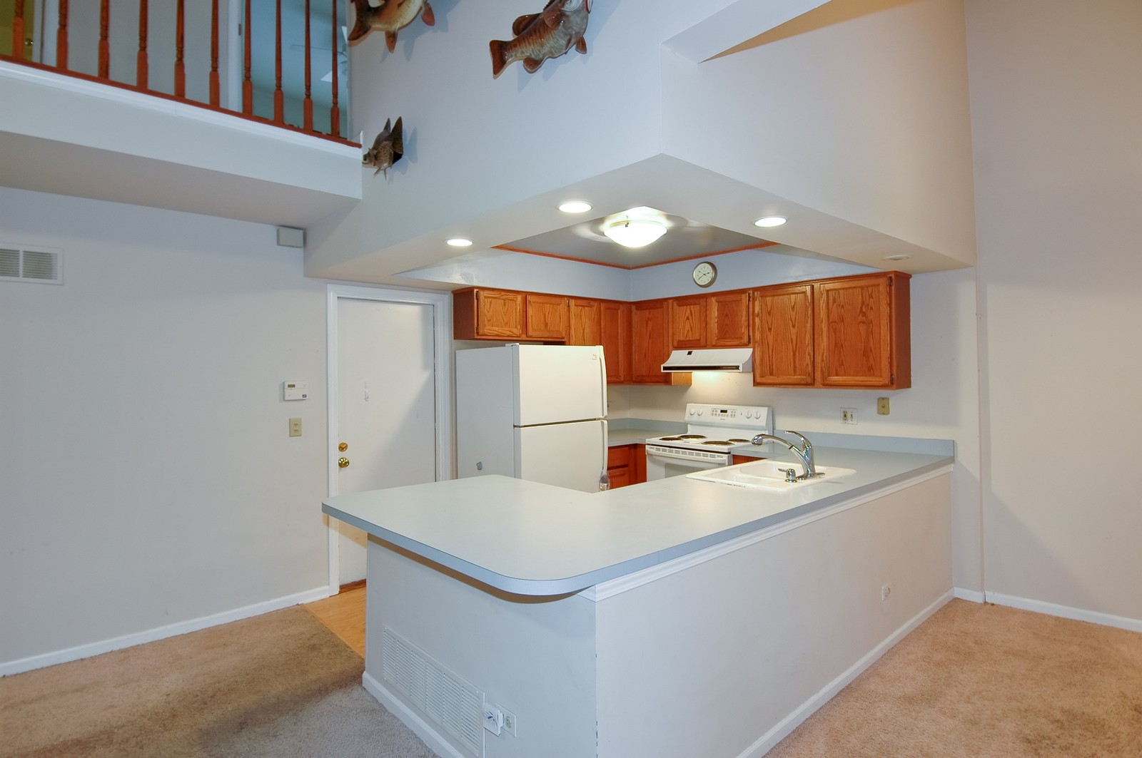 Real Estate Photography - 268 Haber, Cary, IL, 60013 - Kitchen