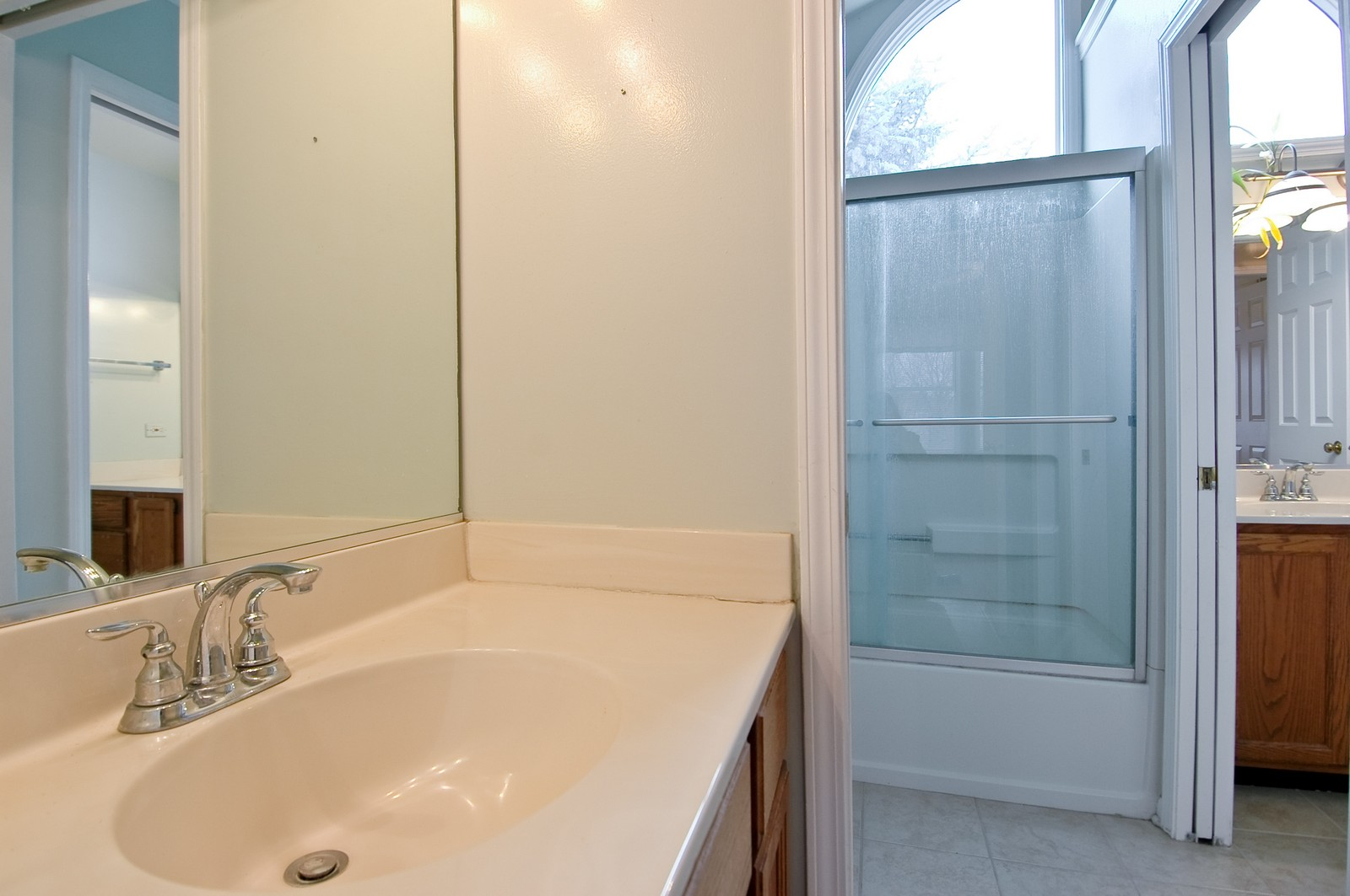 Real Estate Photography - 268 Haber, Cary, IL, 60013 - 2nd Bathroom
