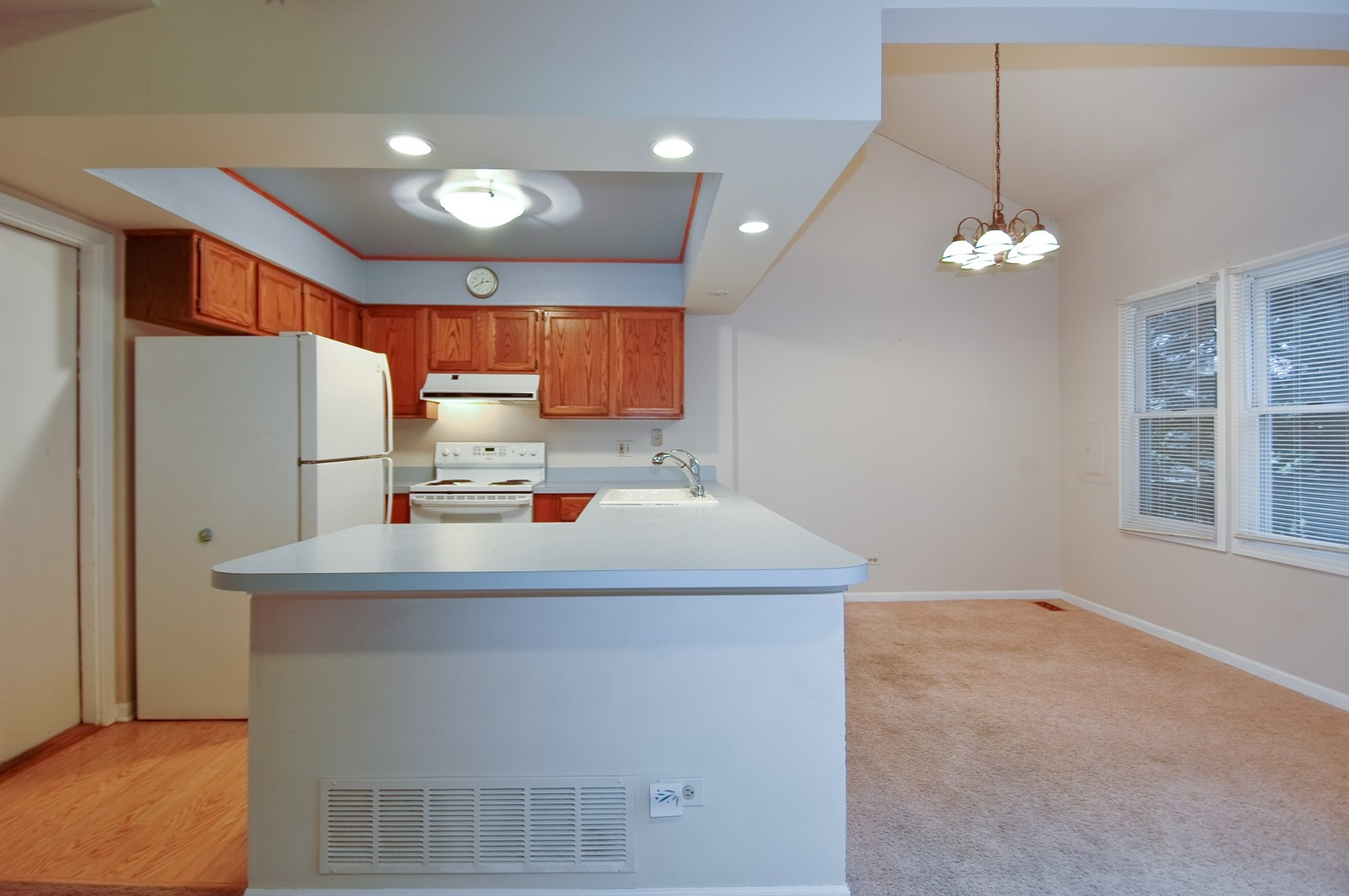 Real Estate Photography - 268 Haber, Cary, IL, 60013 - Kitchen / Dining Room