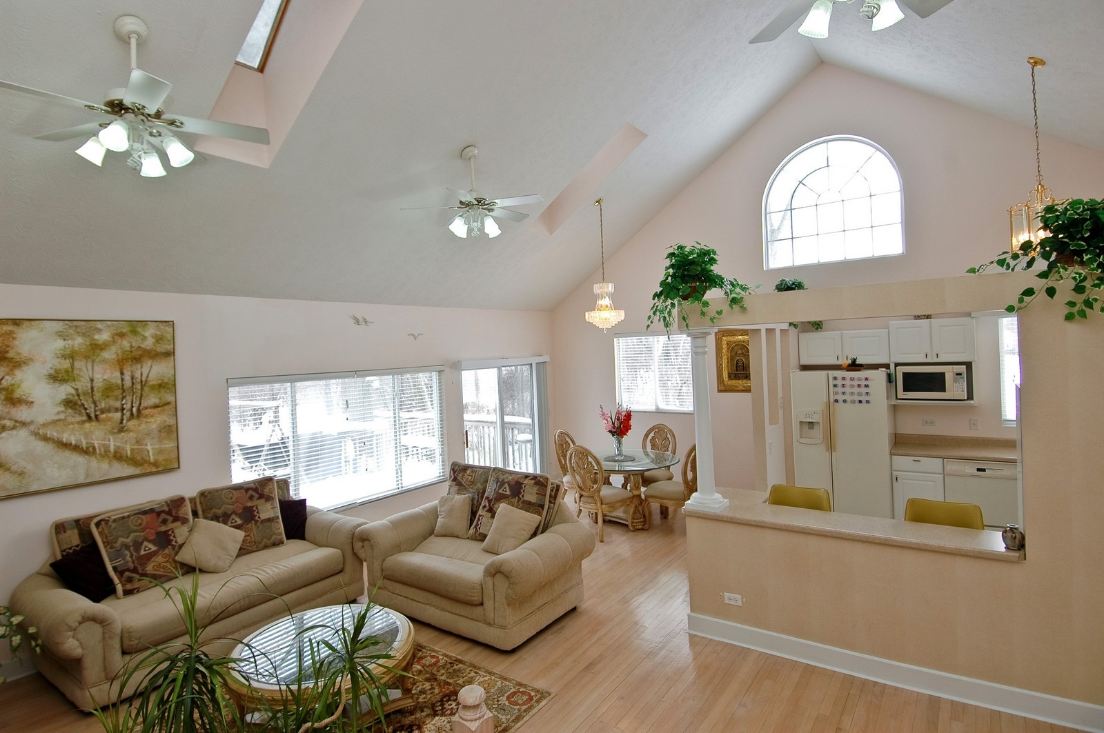 Real Estate Photography - 11811 Halma, Woodstock, IL, 60098 - Living Room
