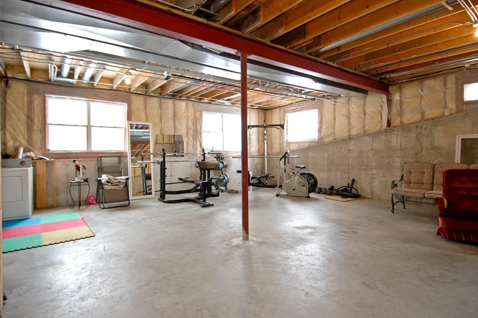 Real Estate Photography - 11811 Halma, Woodstock, IL, 60098 - Sub-Basement