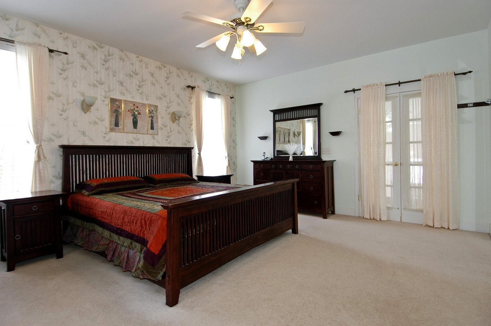 Real Estate Photography - 11811 Halma, Woodstock, IL, 60098 - Master Bedroom