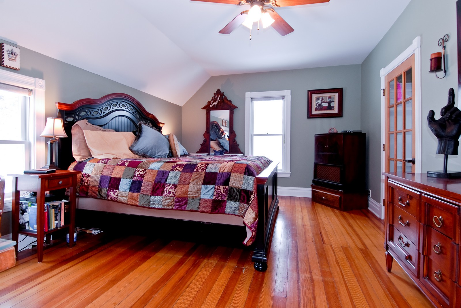 Real Estate Photography - 5N126 Crane, St Charles, IL, 60175 - Master Bedroom