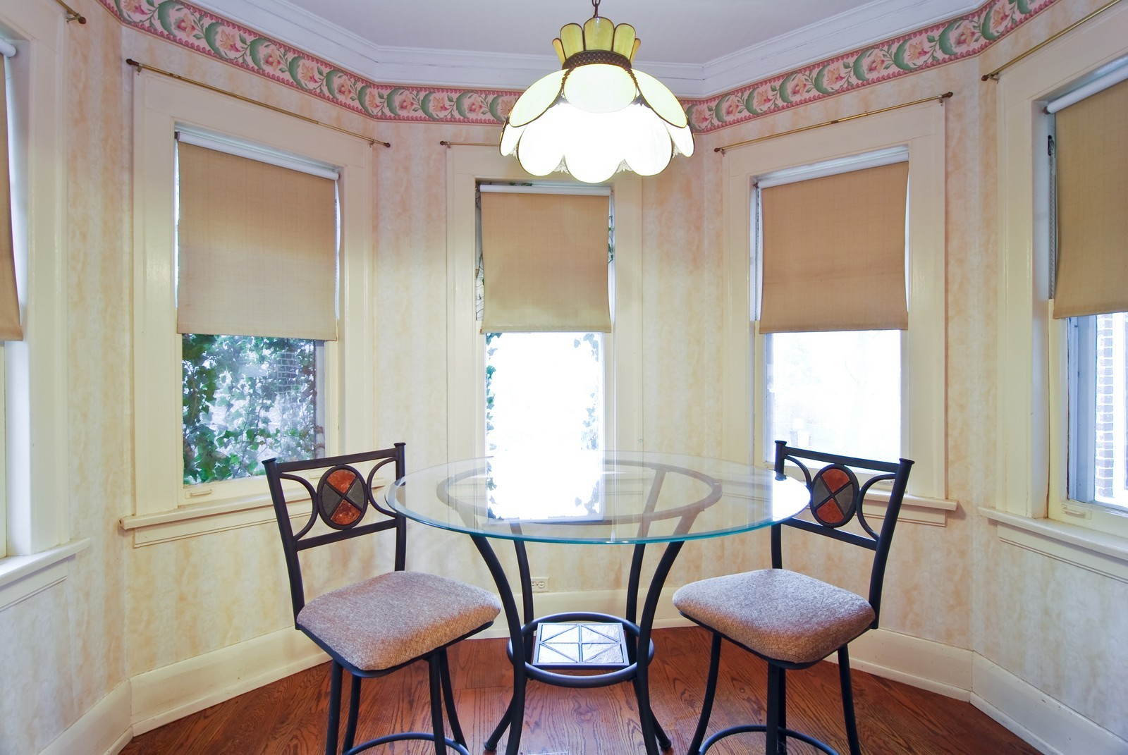 Real Estate Photography - 285 S York, Elmhurst, IL, 60126 - Breakfast Nook