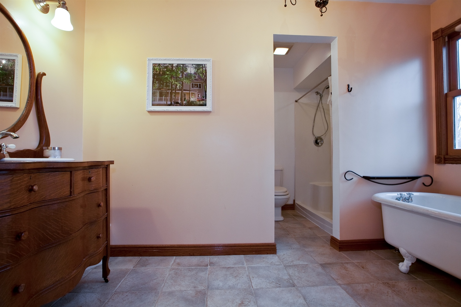 Real Estate Photography - 4838 Drendel, Downers Grove, IL, 60515 - Master Bathroom