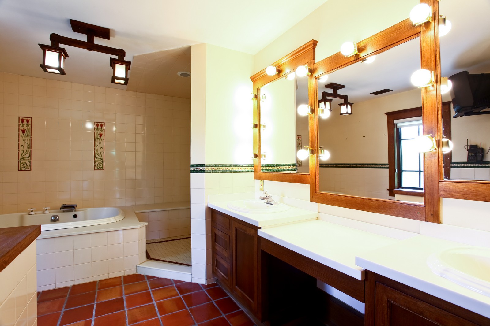 Real Estate Photography - 28W351 Geneva Rd, West Chicago, IL, 60185 - Master Bathroom