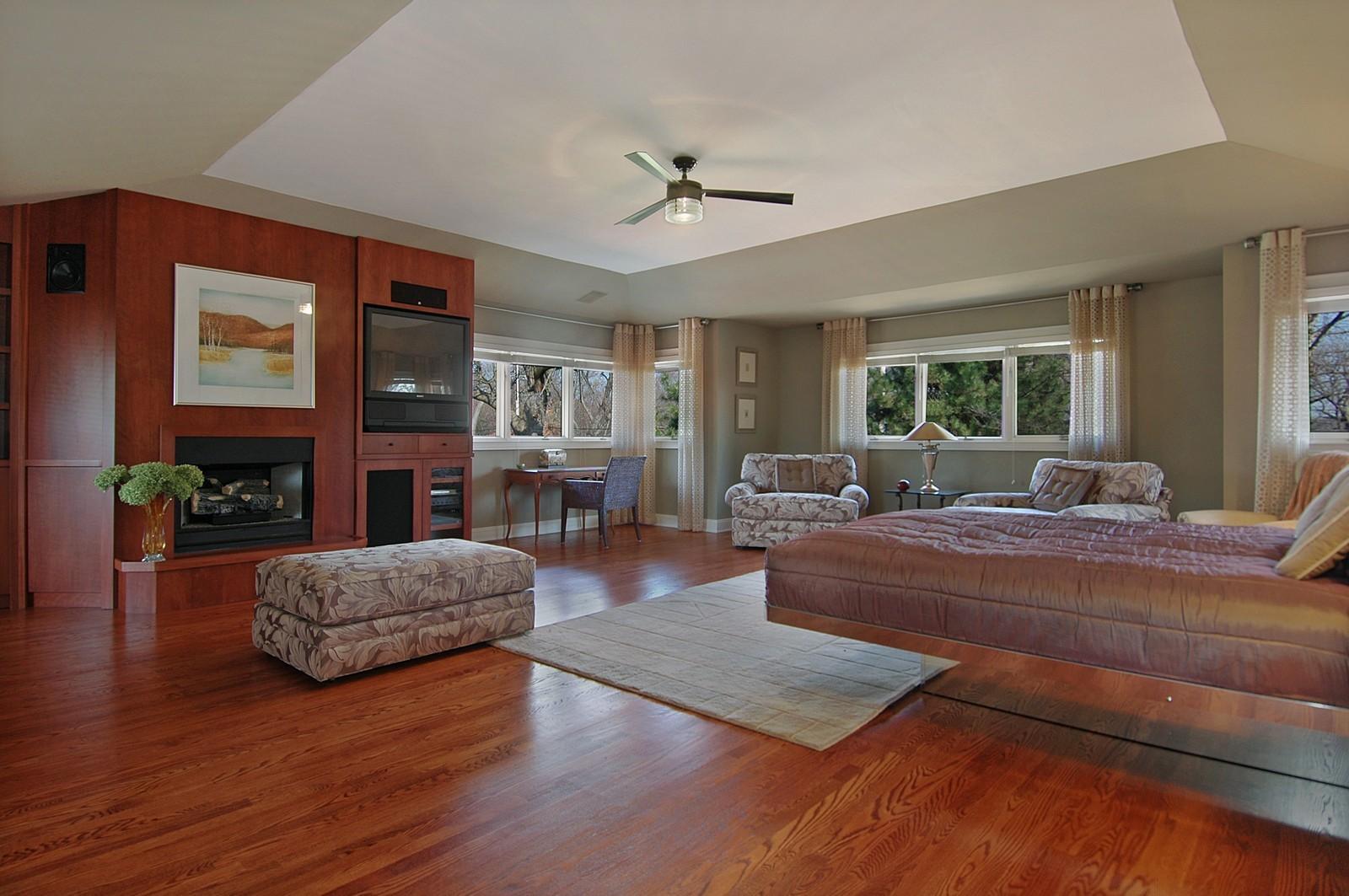 Real Estate Photography - 751 Lake, Crystal Lake, IL, 60014 - Master Bedroom