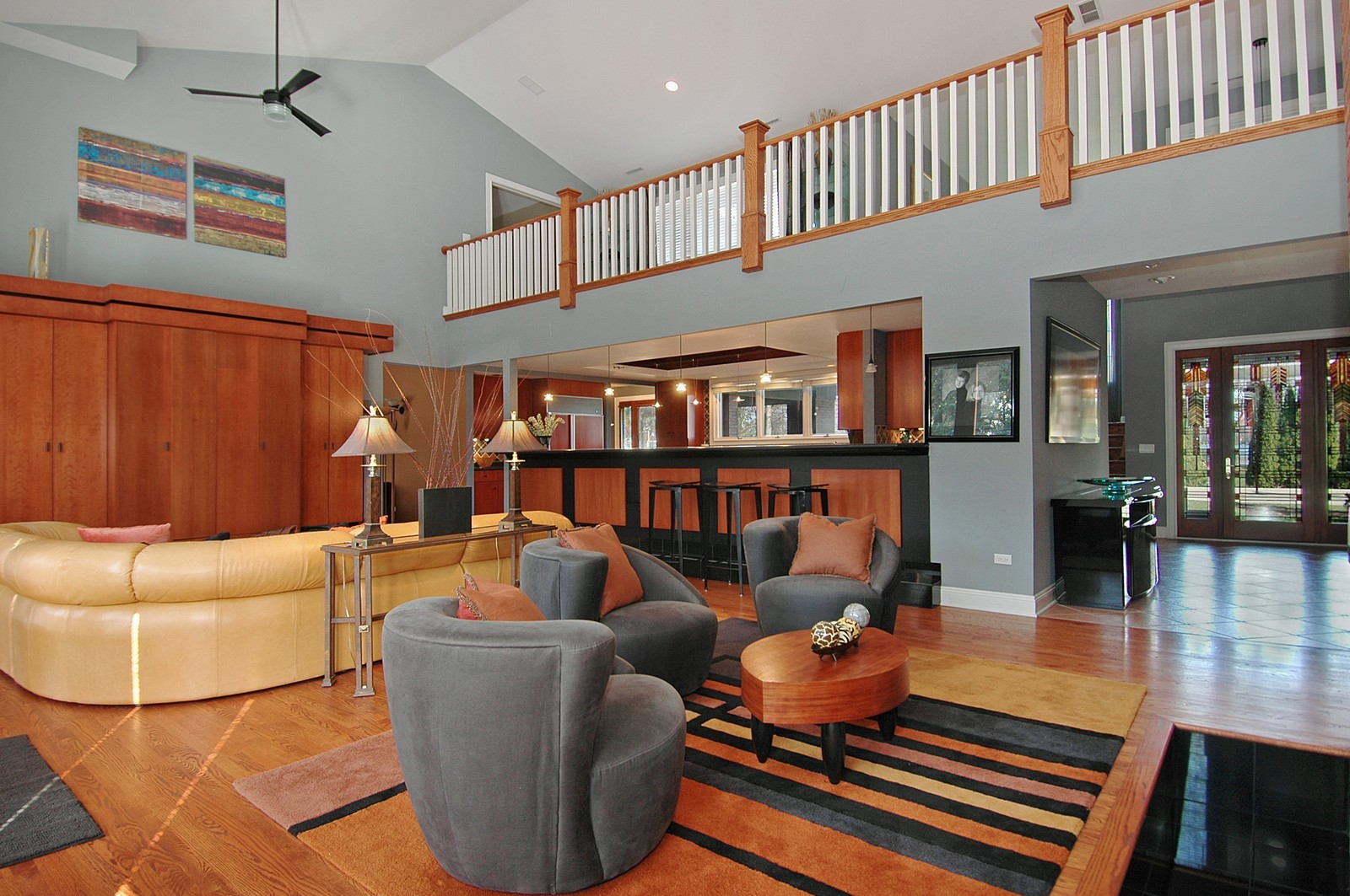 Real Estate Photography - 751 Lake, Crystal Lake, IL, 60014 - Living Room